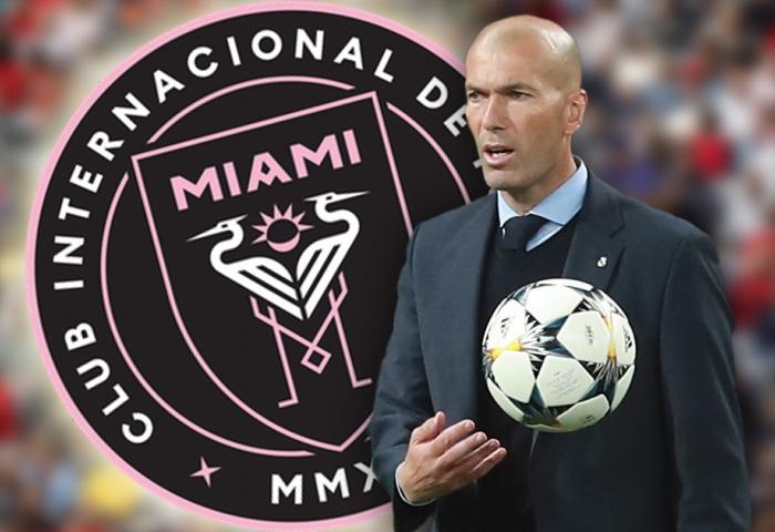 Zidane podría estar en el banquillo del Inter de Miami para el 2020