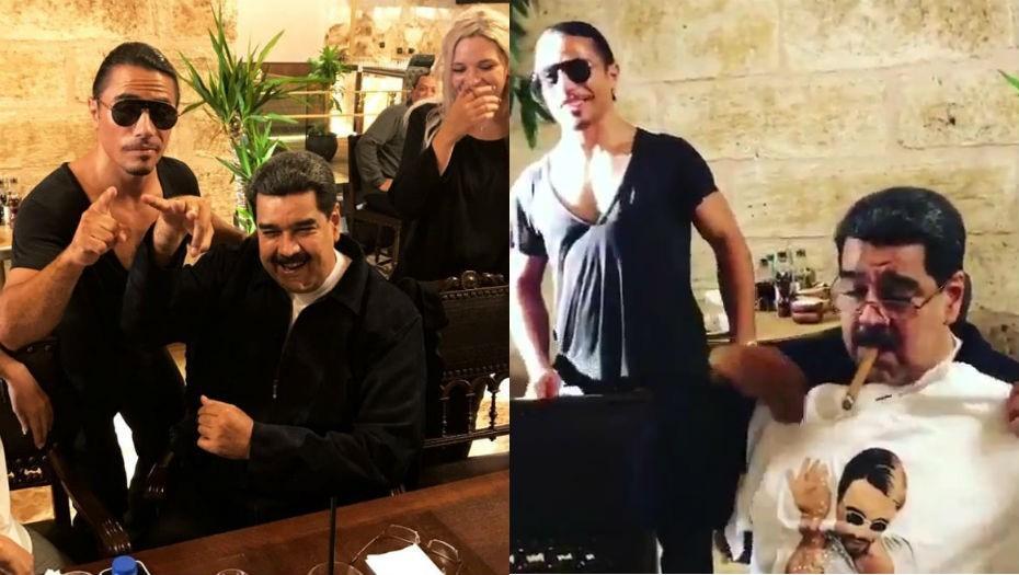Maduro en Turquía cena como un rey mientras en su país pasan hambre