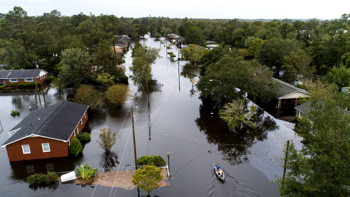Huracan Florence Provoca grandes inundaciones con 23 muertos