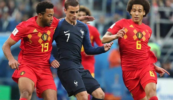 Francia y Bélgica comparten el ranking de la fifa