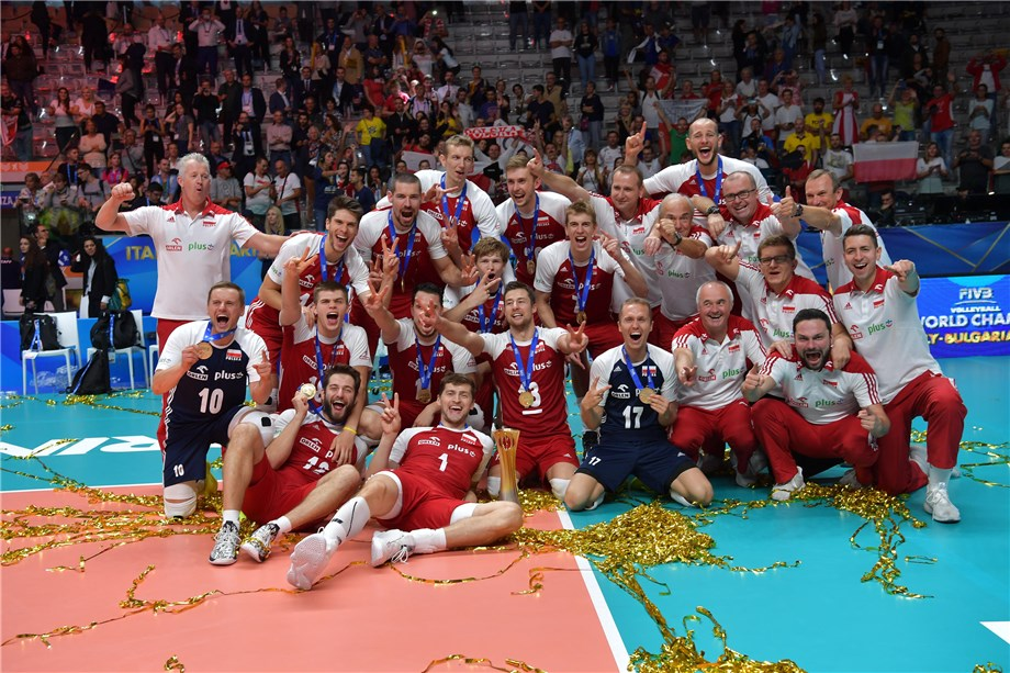 Polonia gana su tercer mundial de Voleibol