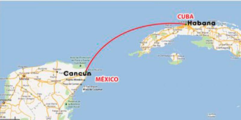 Cubanos viajan a cancún para importar mercancias a la isla