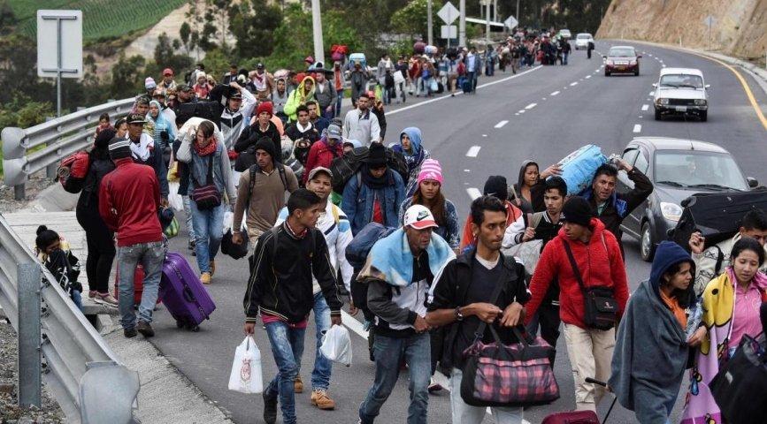 Cerca de un millon de venezolanos abandon su país en lo que va de a;o