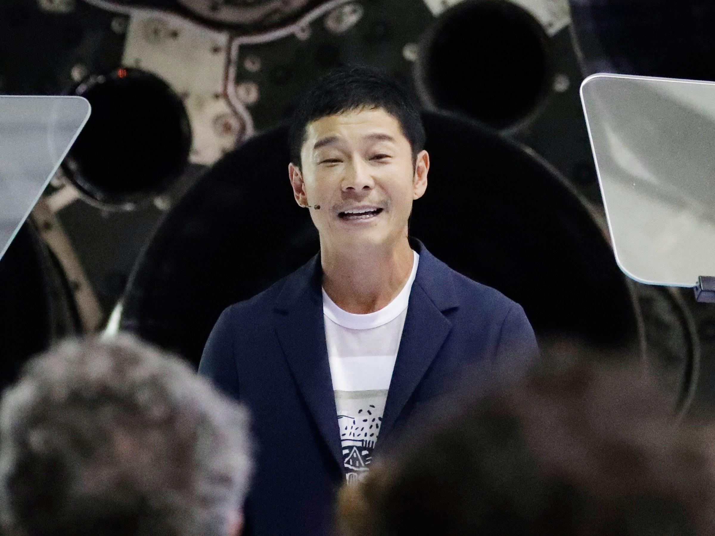 Primer turista espacial será el japones Yusaku Maezawa