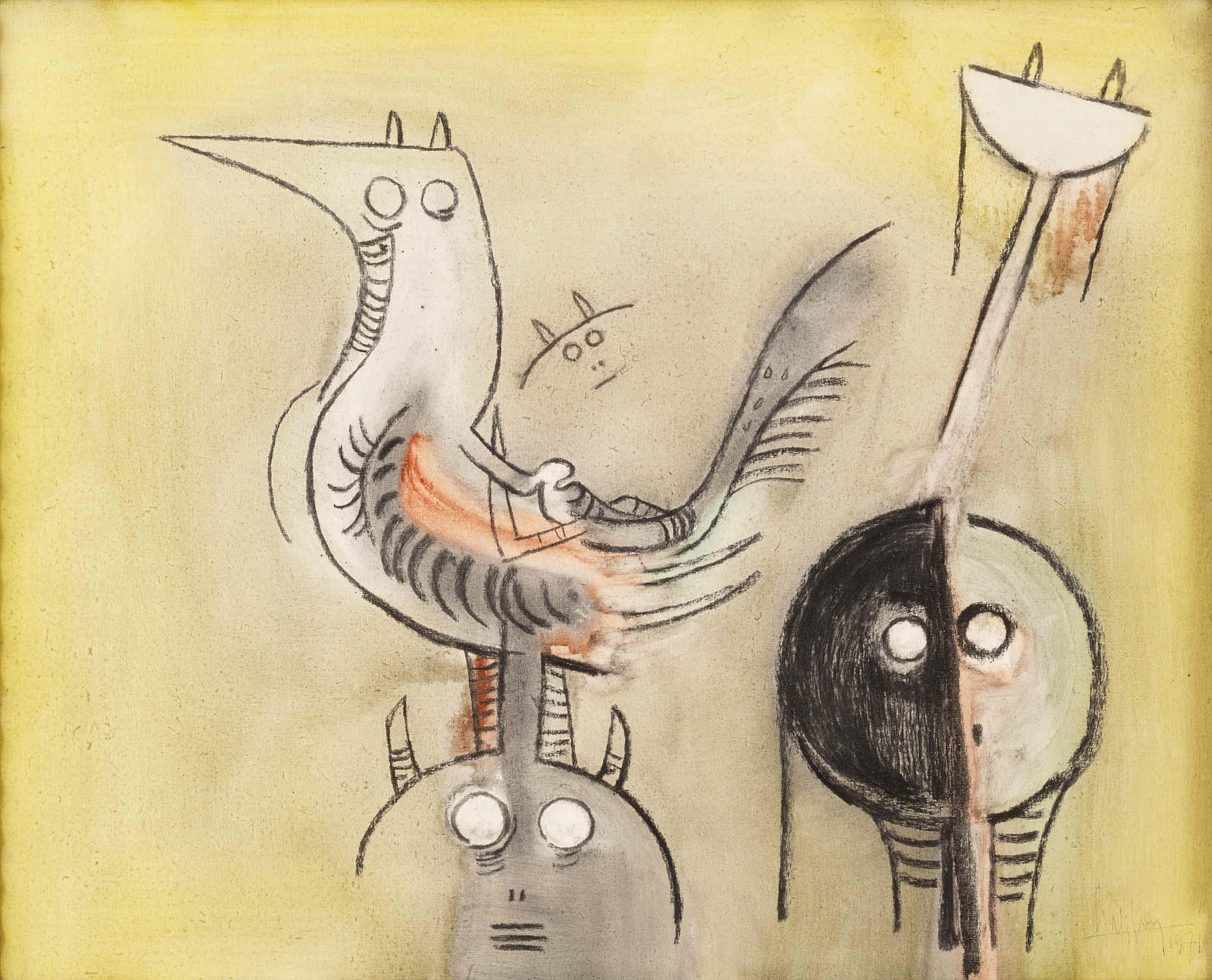 Obra de arte de Wifredo Lam serán subastadas por internet