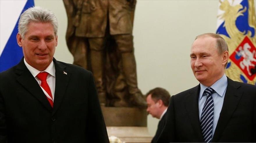 Rusia es el cuarto socio comercial de Cuba y un aliado estratégico