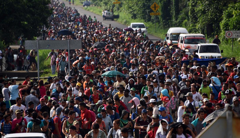 Enfrentamientos en la frontera de Guatemala-México se cobran la vida de un emigrante