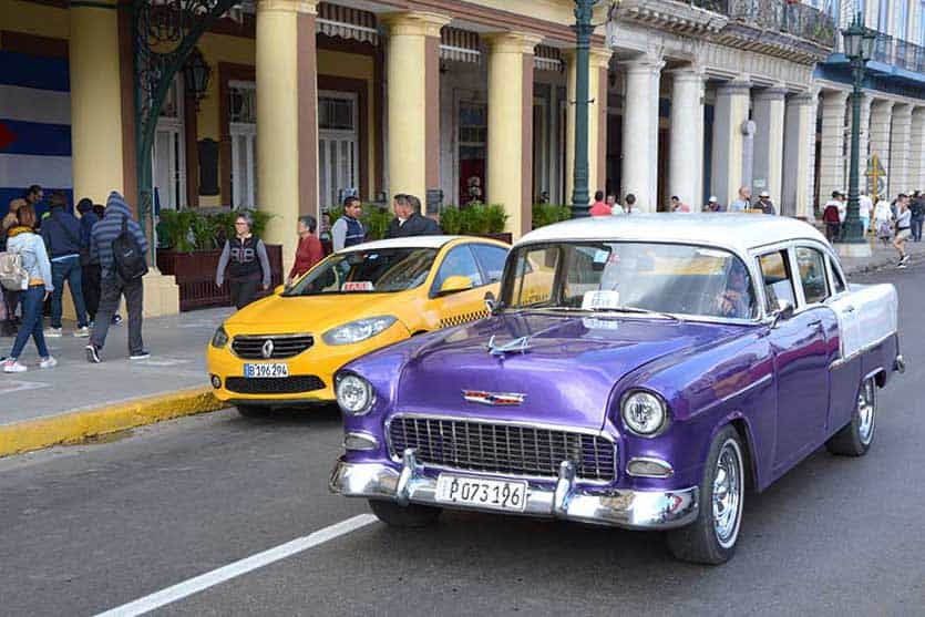 Taxis-Cuba-