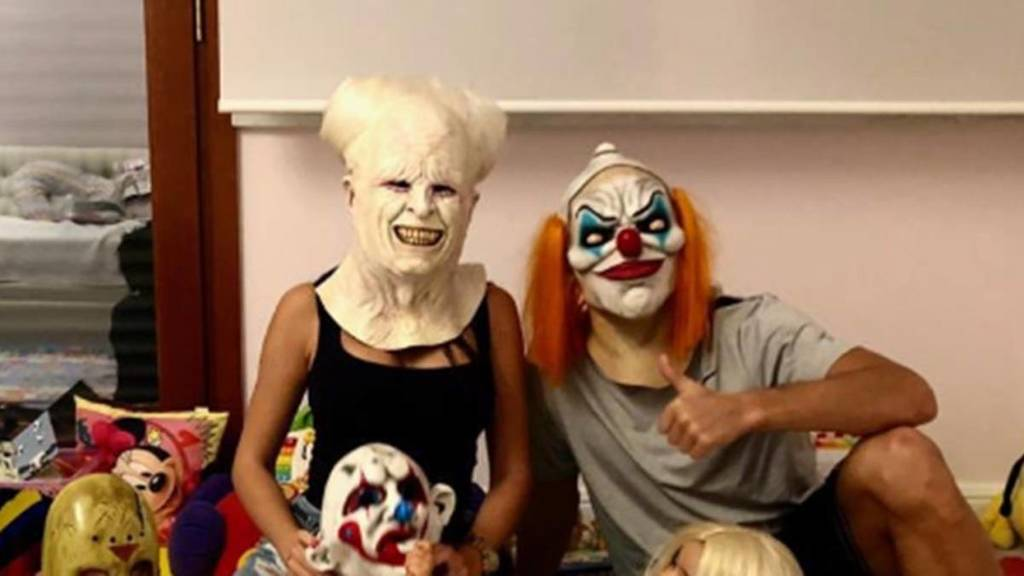 CR7 publica fotos de los preparativos de su familia para Halloween