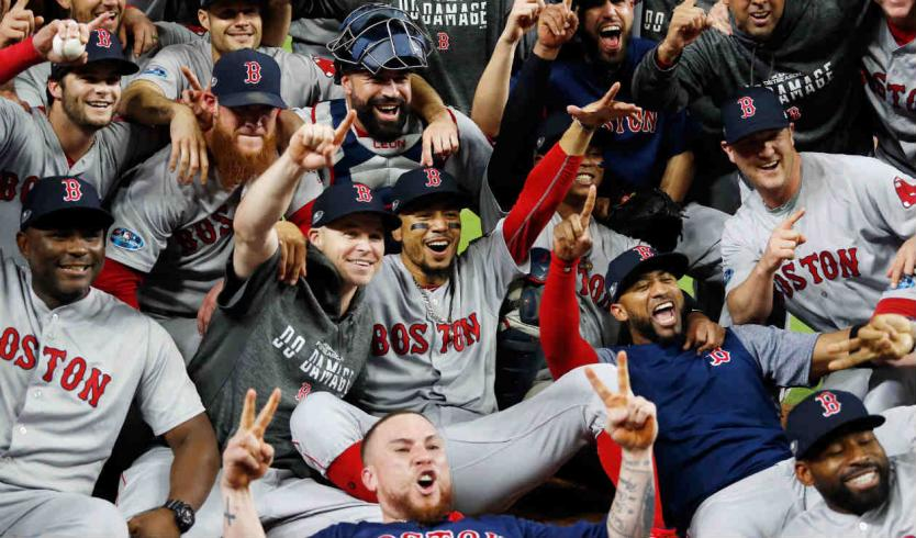 medias rojas de boston avanzan a la serie mundial de la mano de J. D. Martinez