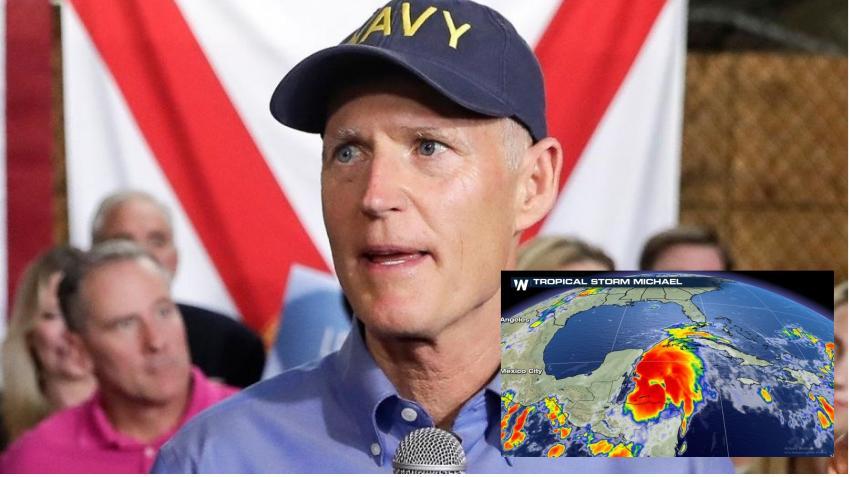 Estado de emergencia ne la florida por la llegada del huracán michael
