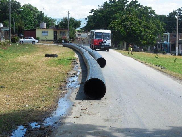 Las obras del acueducto de guantanamo están retrasadas