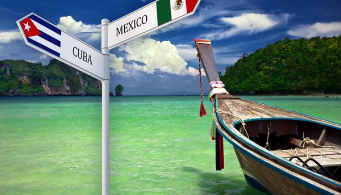 Crece el turismo mexicano a Cuba