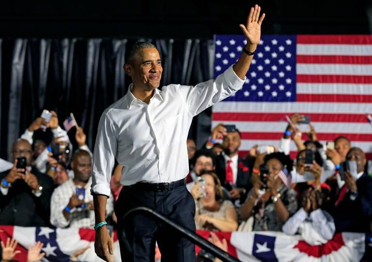Obama participa en el cierre de campaña de los candidatos demócratas de la Florida
