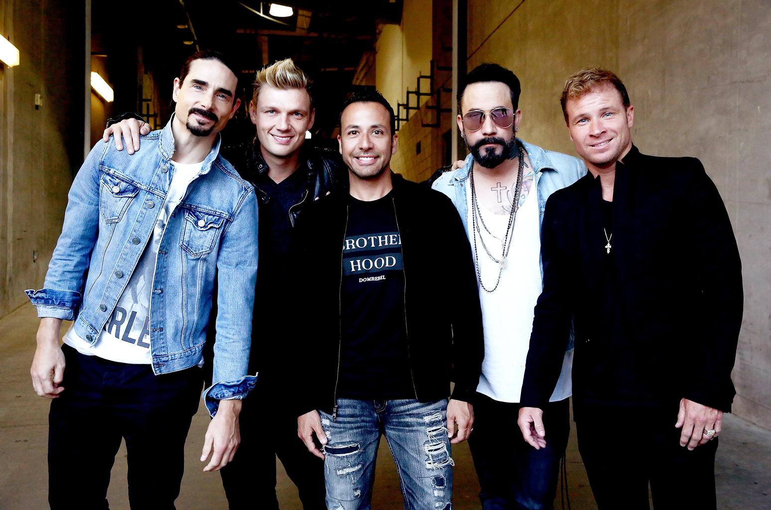 Grupo Backstreet Boys vuelve a los escenarios
