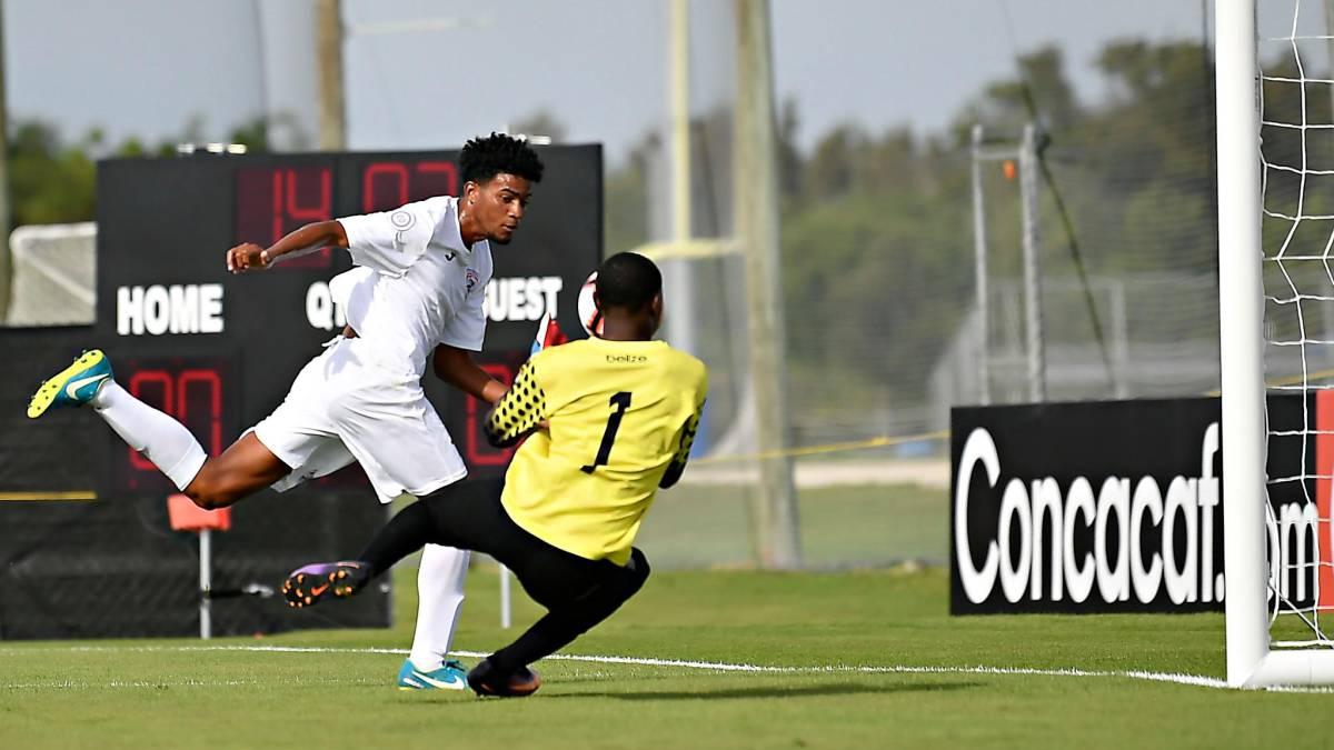 Fútbol Cubano: La selección sub 20 arrasa con Belice