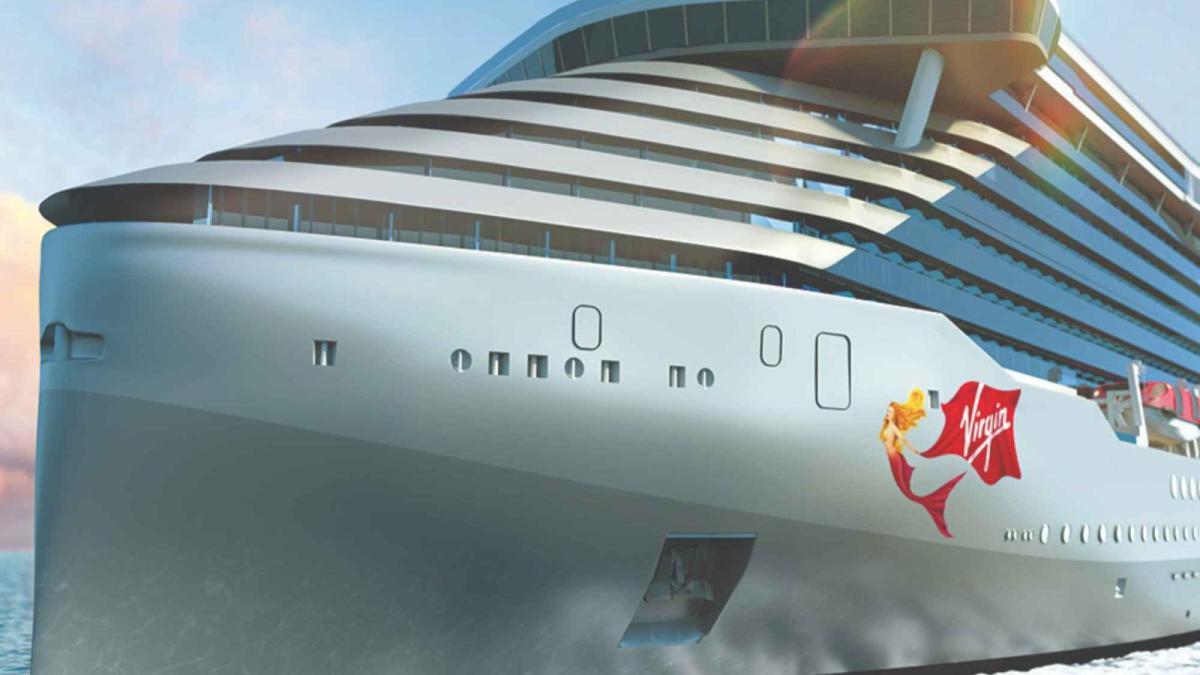 """Crucero """"Scarlet Lady"""" de la línea del magnate Richard Branson"""