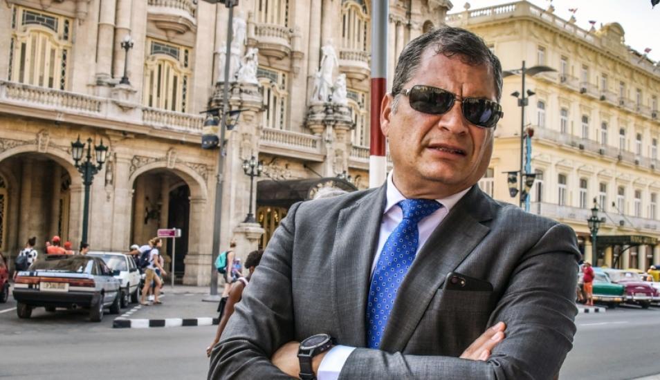 Rafael Correa estaría pidiendo asilo en Bélgica