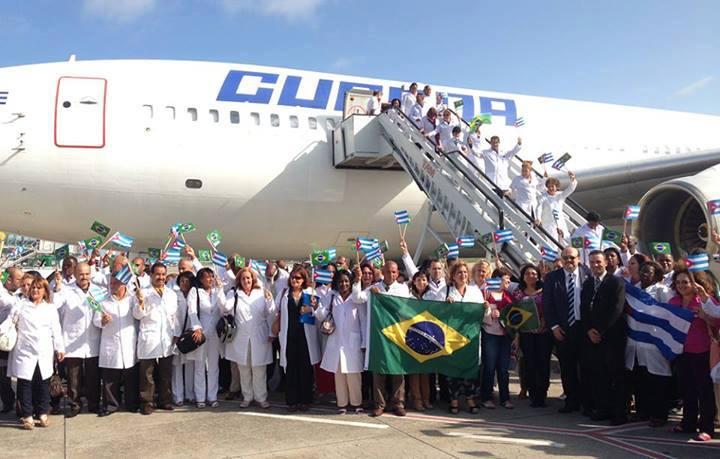 Cuba pone fecha al regreso de los medicos de Brasil