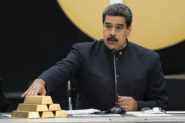 Maduro y su oro