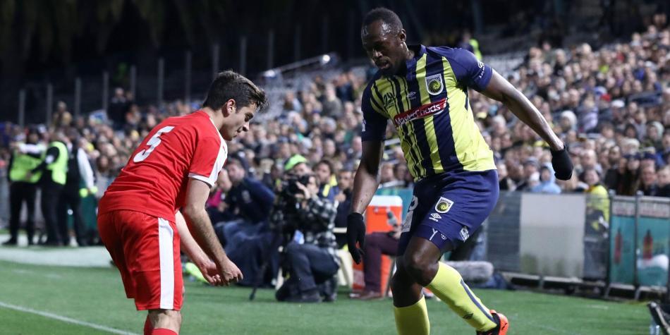 Bolt abandona el club australiano donde jugaba