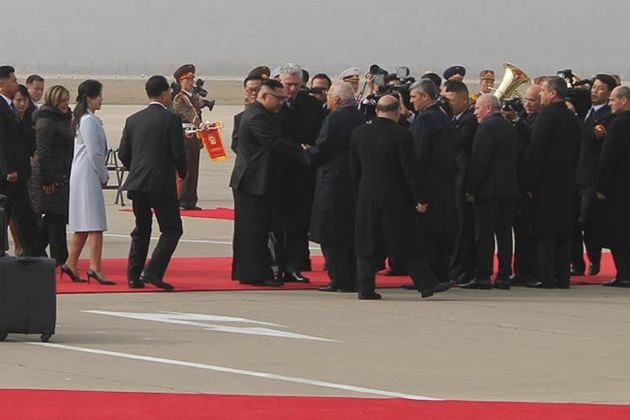 Díaz-Canel llega a Corea del Norte