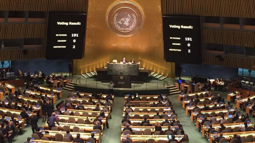En la ONU Cuba vuelve a recibir el apoyo contra el embargo