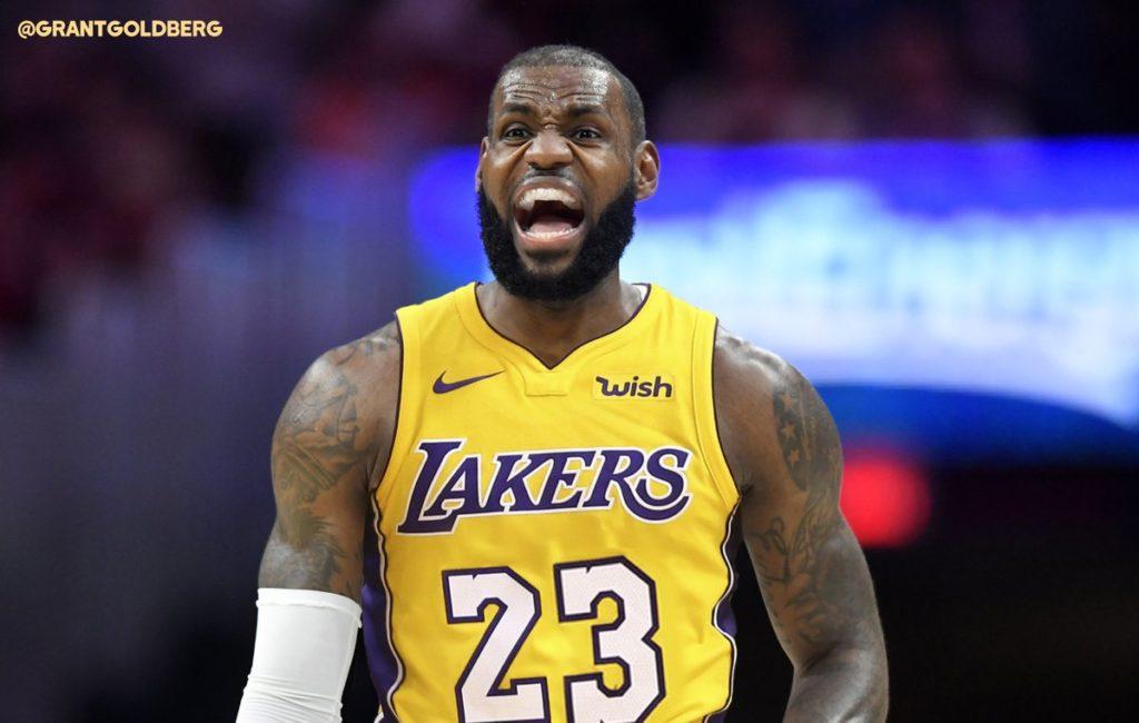 LeBron James entre los cinco mejores anotadores de la NBA