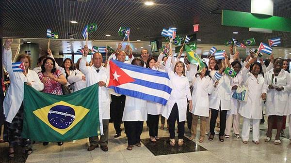 Cuba retira a todos sus medicos de Brasil