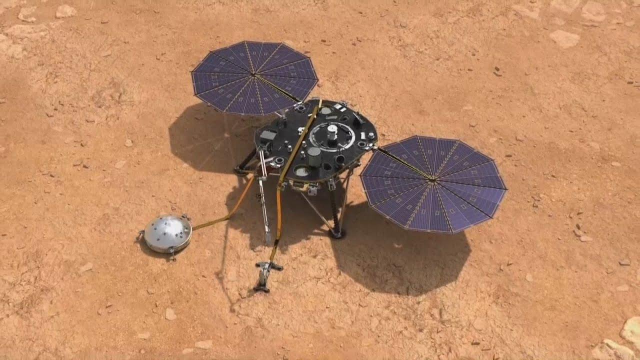 mision de la NASA en marte