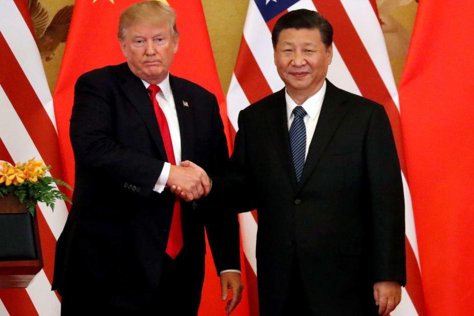 Trump y el presidente chino mantienen una conversación telefónica