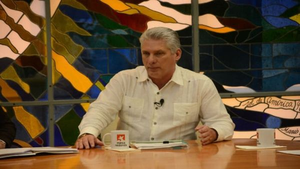 Diaz-Canel afirma que lo peor del coronavirus está por venir