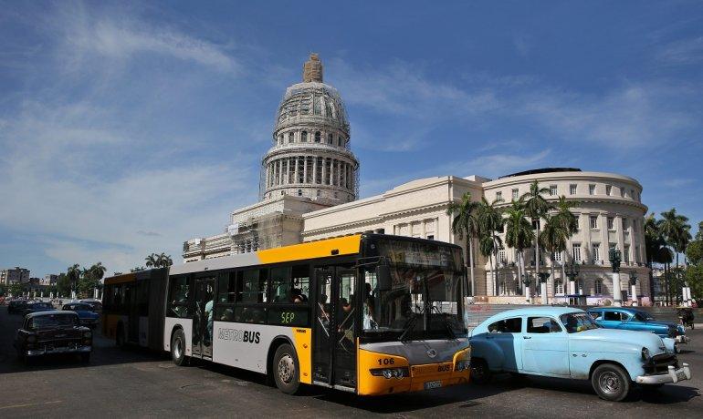 Se paraliza el transporte publico en Cuba
