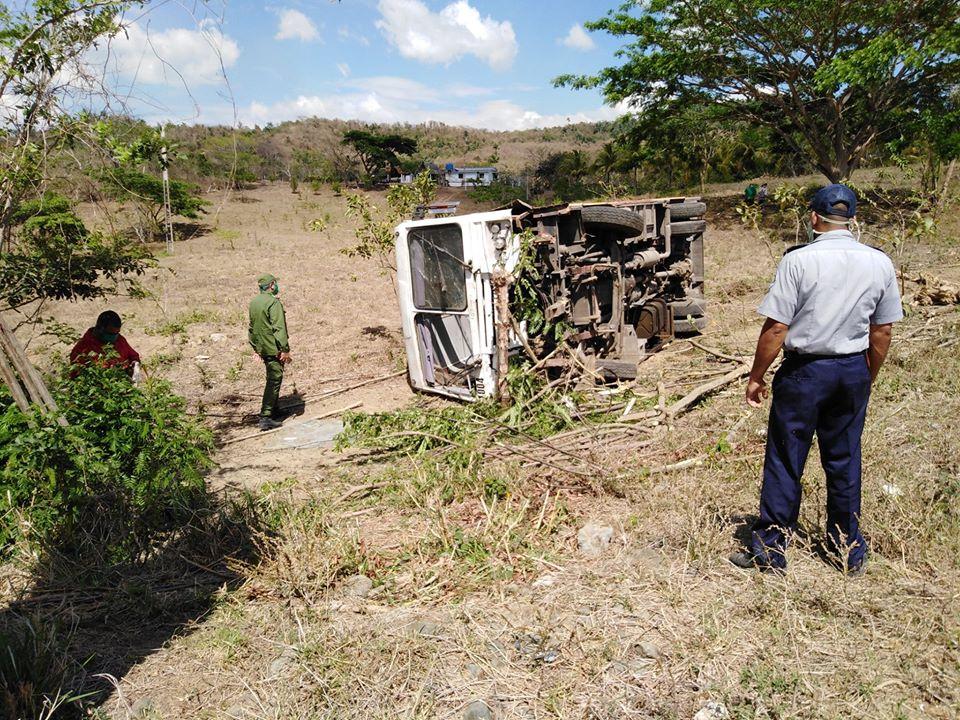 Accidente de transito en Manicaragua