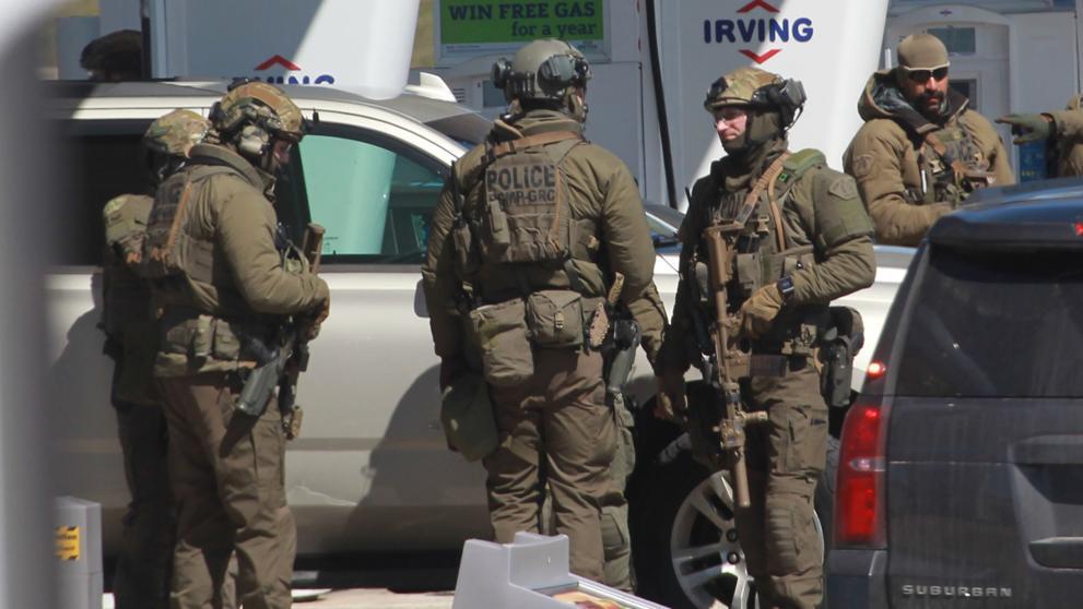La policía desplegó un amplio operativo para encontrar a Wortman