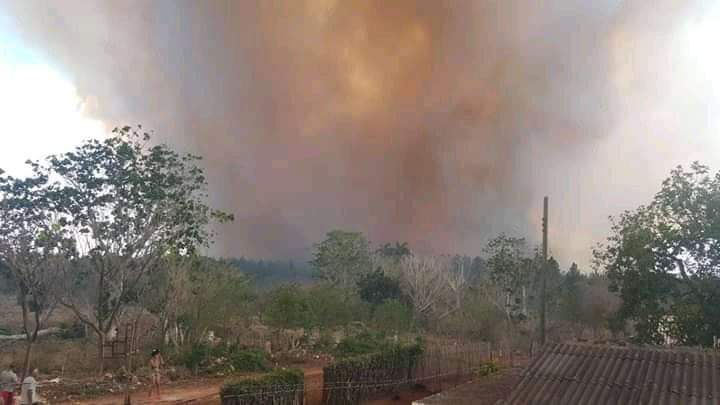 Incendio en Corralillo
