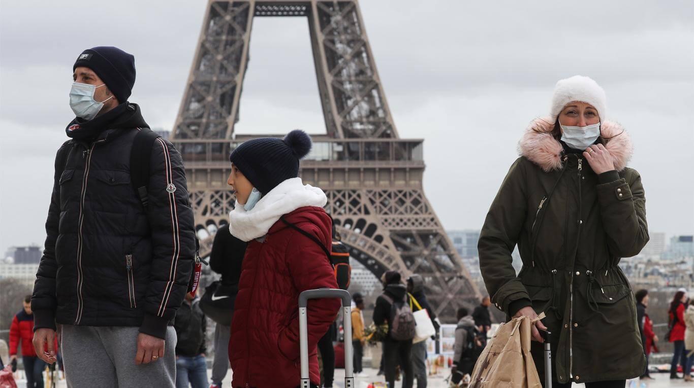 Francia 3er país mas afectado de Europa