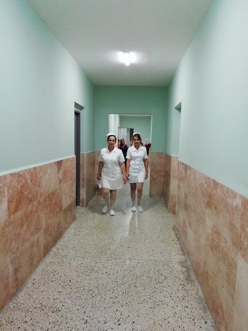 Hospital en cuarentena