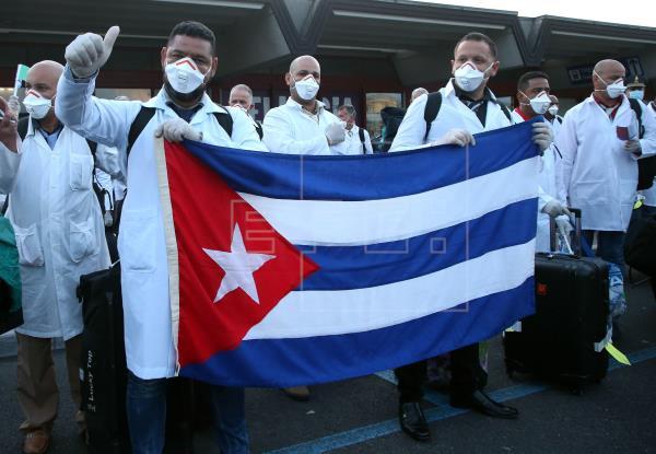 Arriba a Italia segunda brigada médica procedente de Cuba