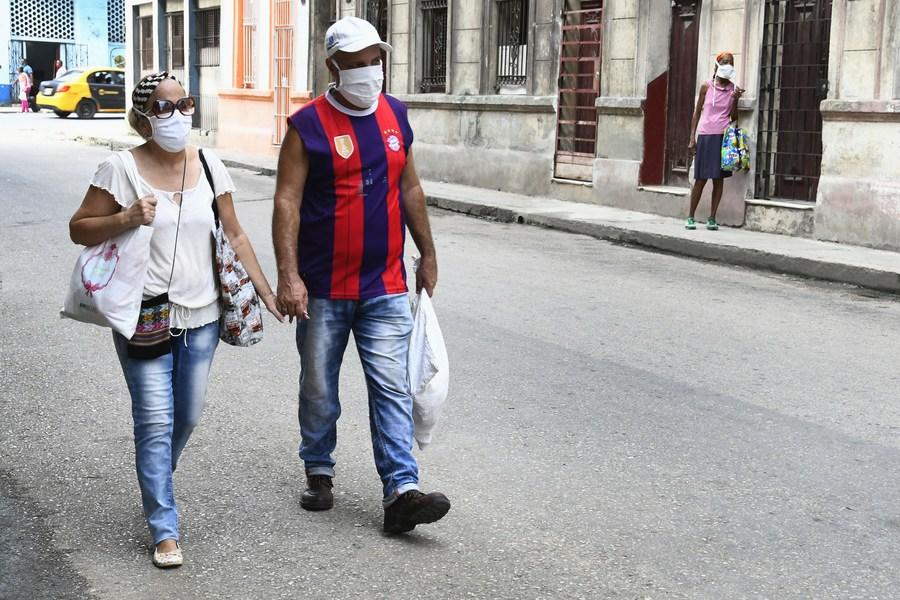 La Habana con mascarilla