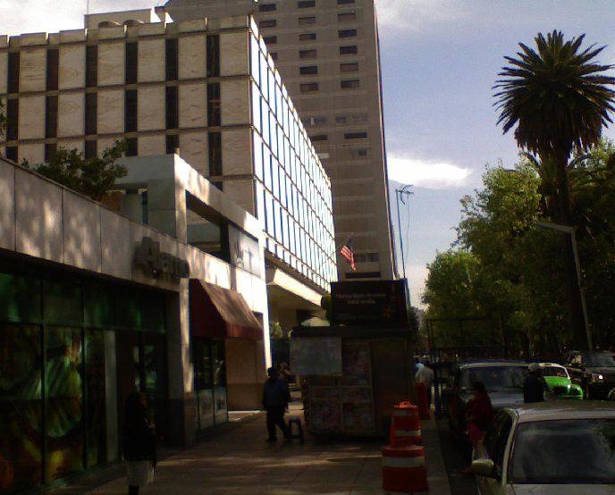 Embajada de EEUU en territorio mexicano