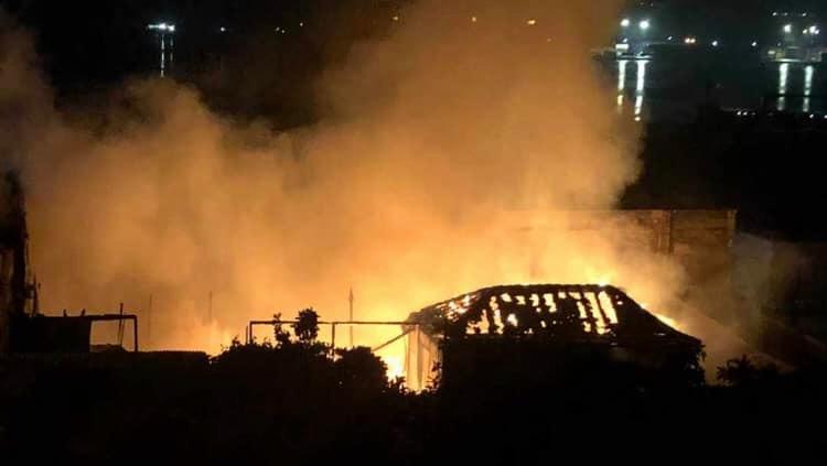 Incendio en Empresa Ávicola de Santiago de Cuba