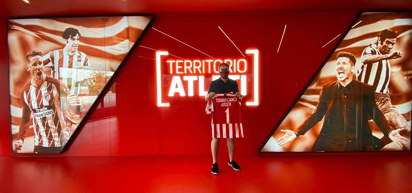 Atlético de Madrid anuncia dos casos positivos al Covid-19 previo a su juego de Champions