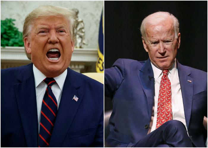 Biden aventaja a Trump en los estados claves para la elección presidencial