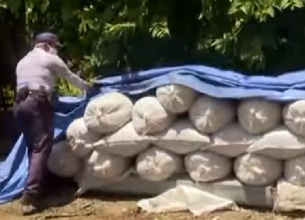 Decomisan mas de 100 quintales de arroz