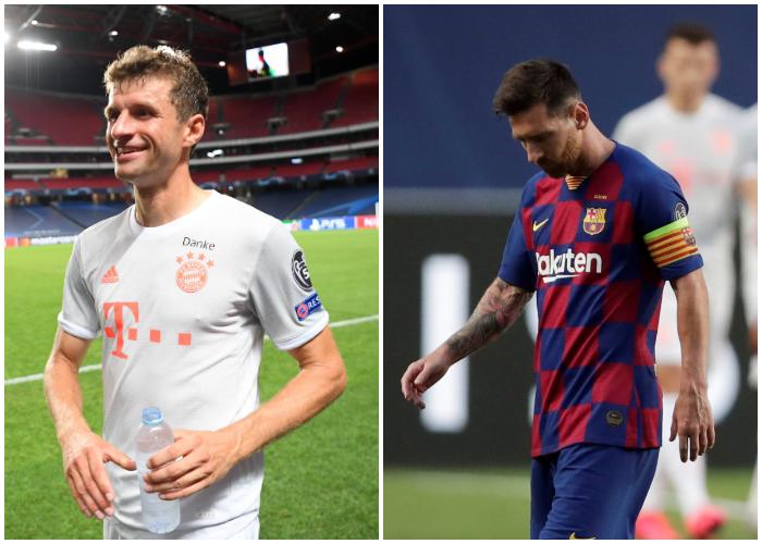 Histórica goleada del Bayern al Barcelona en la Champions League