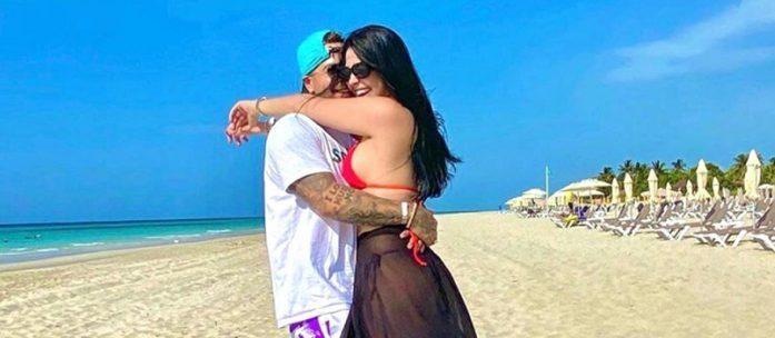 La foto que confirma el noviazgo entre Yomil y Daniela Reyes