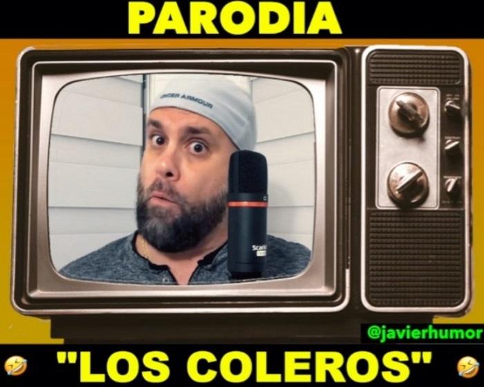 Parodia a Los Coleros, de Javier Berridy