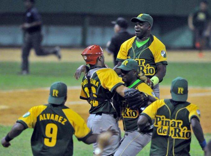 Serie Nacional de Béisbol Estos son los Vegueros de Pinar del Río
