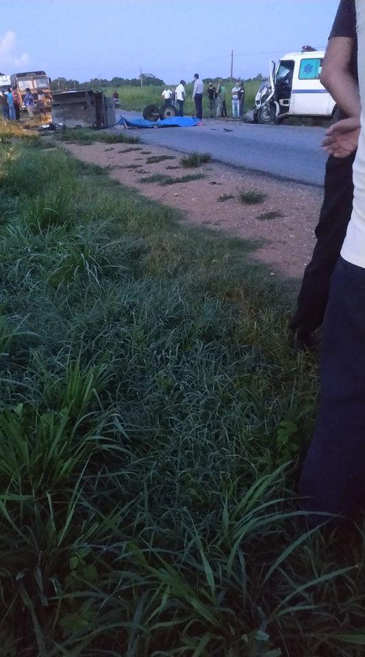Accidente en Cienguegos
